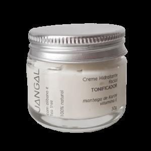 Creme hidratante facial vitamina E cosméticos naturais