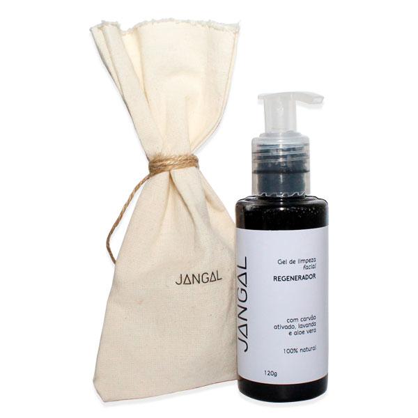 Gel limpeza facial rosto cravos-sabonete-esfoliante-veganos-limpeza facial jangal cosmético vegano