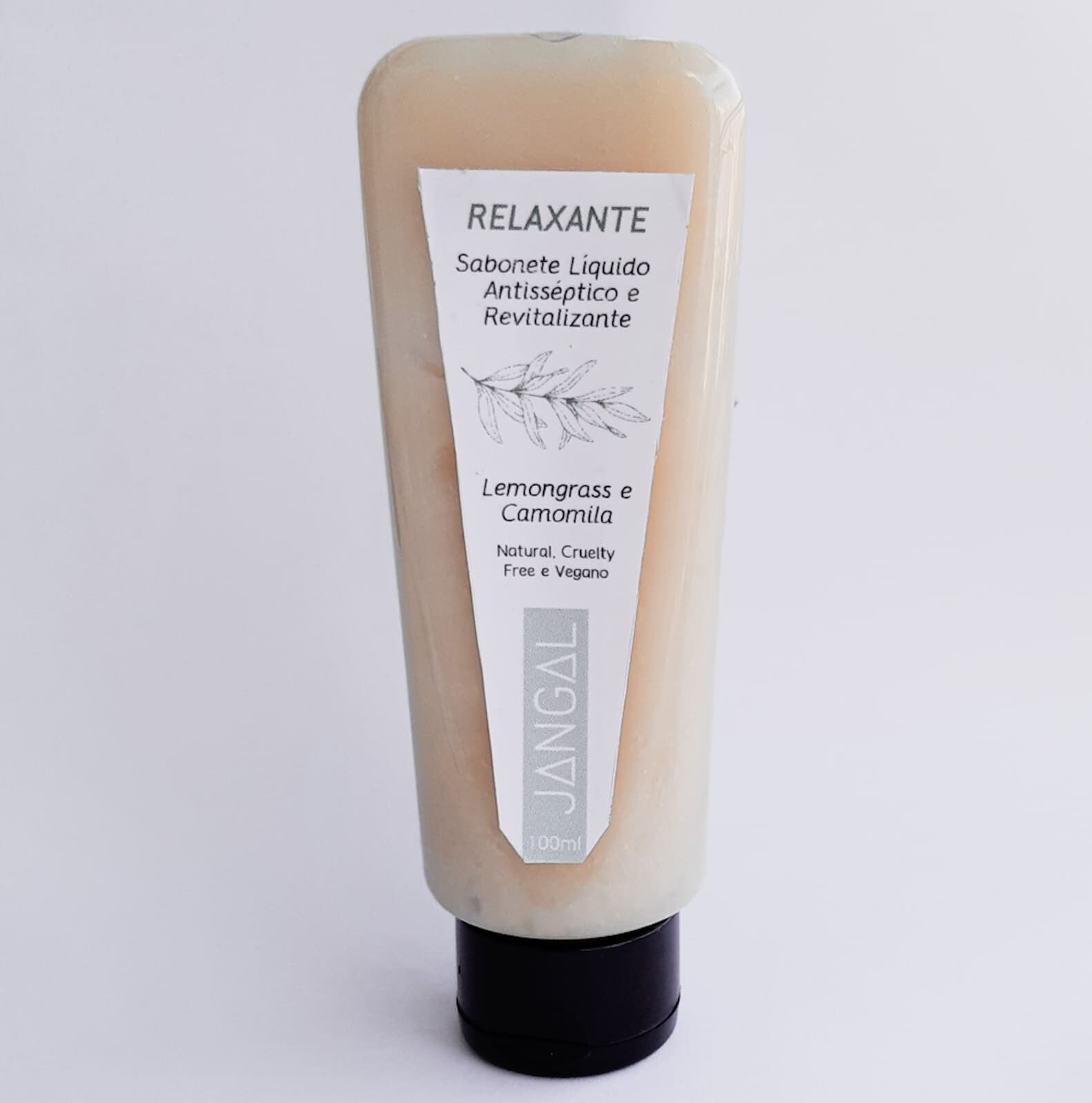 sabonete liquido natural relaxante jangal orgânico vegano