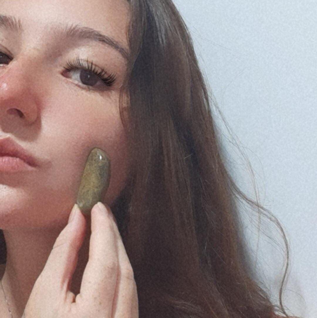 pedra jade poderosa antiestresse kit jangal