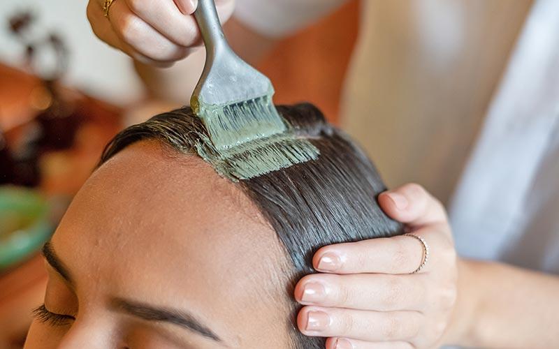 argila verde no cabelo detox capilar